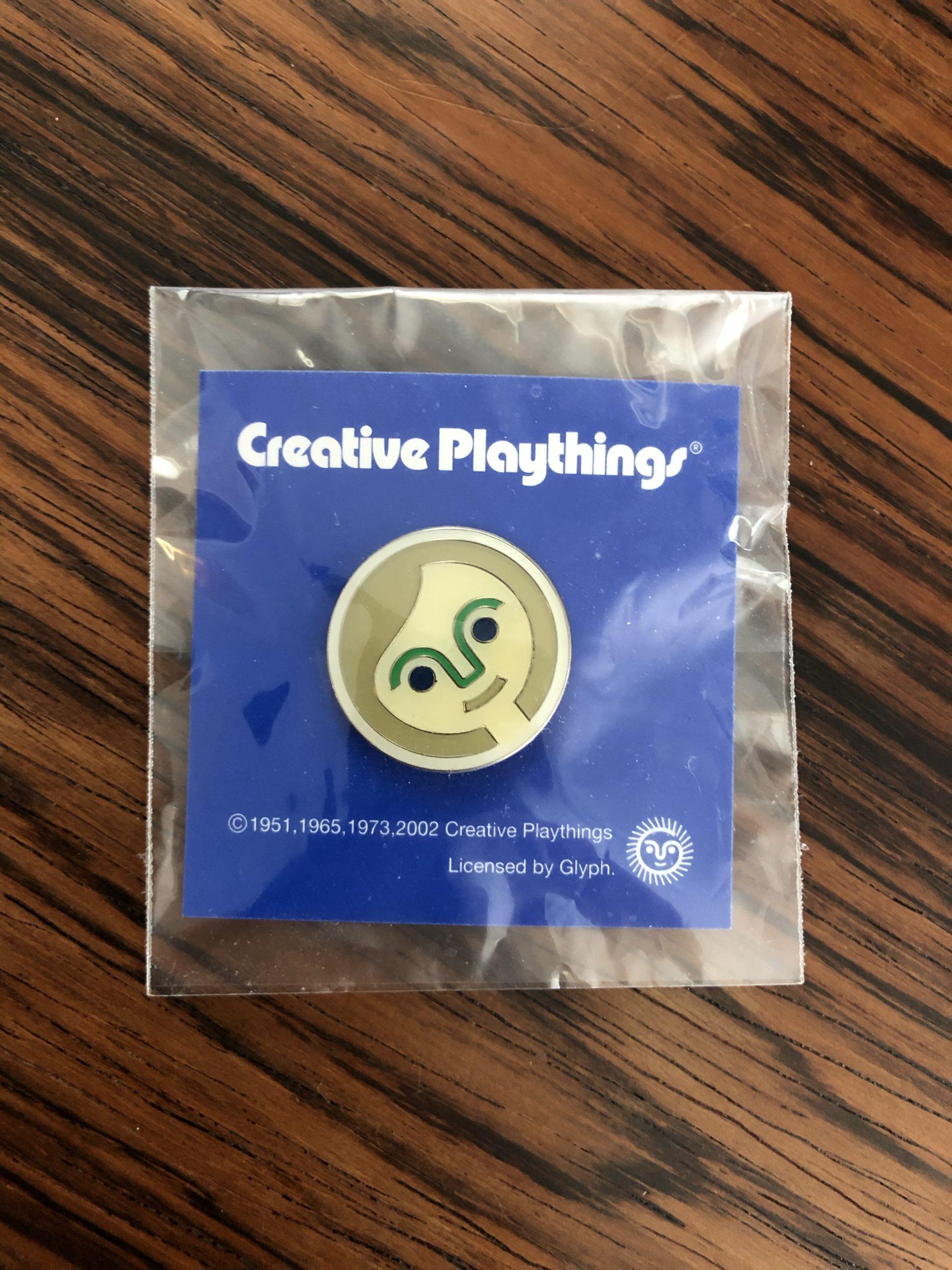 Creative Playthings Enamel Pin